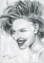 Набросок «Стиль» — бумага, карандаш, рисунок