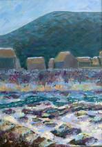Картина «Море» — холст, масло, живопись