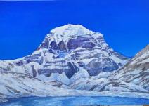 Картина «Тибет. Кайлас» — холст, масло, живопись